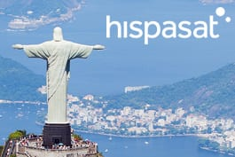 Hispasat and Gilat Connecting Brazil