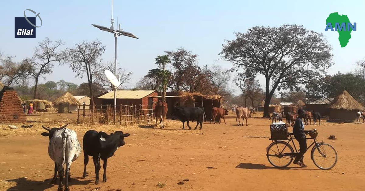 Africa Mobile Networks (AMN) Extends Gilat's Contract of Powering Africa's Largest Satellite Cellular Backhaul Network