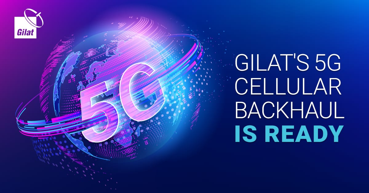 Gilat Successfully Demonstrates Carrying 5G Traffic with Outstanding Performance over Thaicom's GEO HTS Satellite