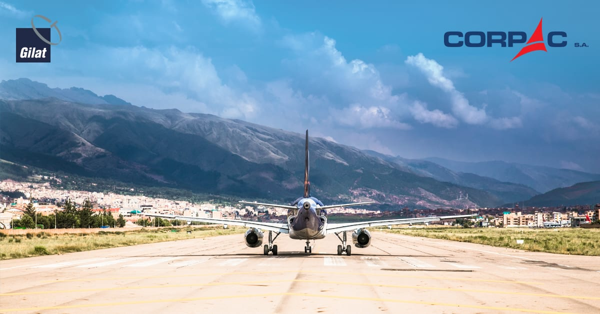 CORPAC Awards Gilat Multi-Million-Dollar Contract to Provide Mission Critical Telecom Systems for Peru's Airports